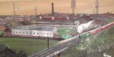 Bolton Wanderers Ground Scene 20'' x 30'' Canvas Print